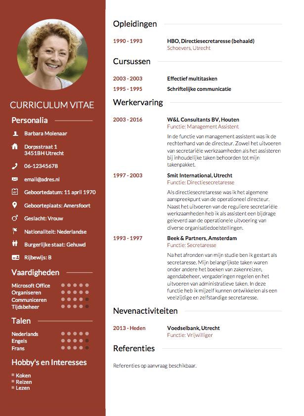 nieuwe cv maken CV maken in 3 stappen? • Invullen en direct je CV downloaden   CV.nl
